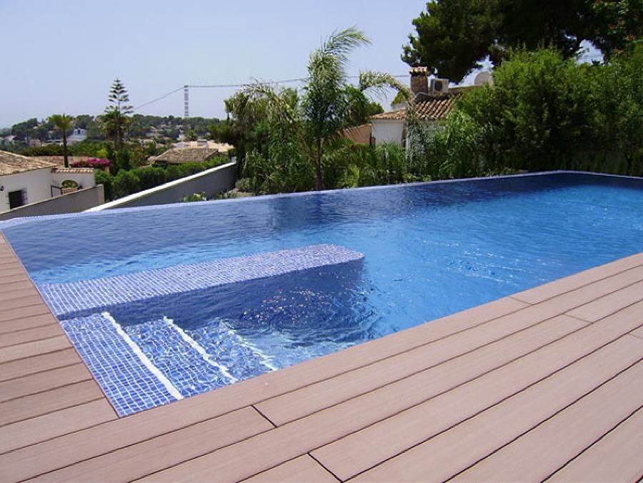 escaleras de piscinas cómodas y seguras | ideas construcción piscinas