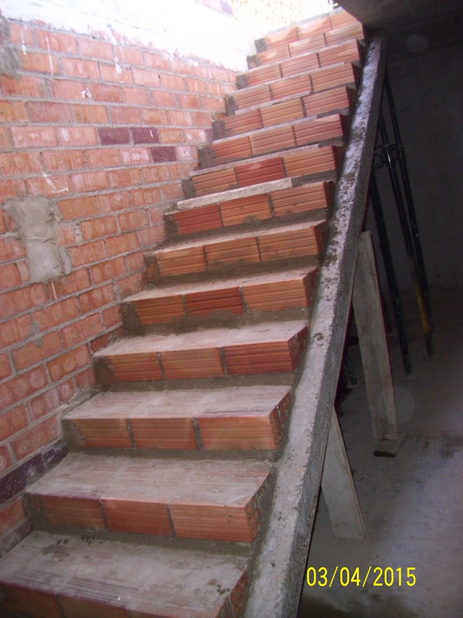 escaleras de plata garaje