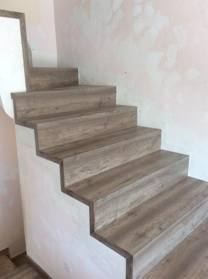 Escaleras Forrado