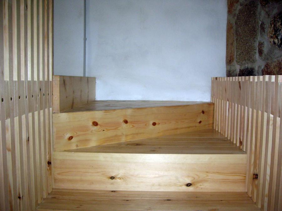 Escaleras Madera