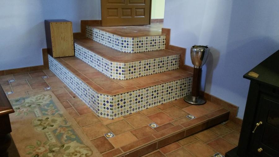 Foto escaleras r sticas de construcciones pedro 828600 for Fotos de escaleras rusticas