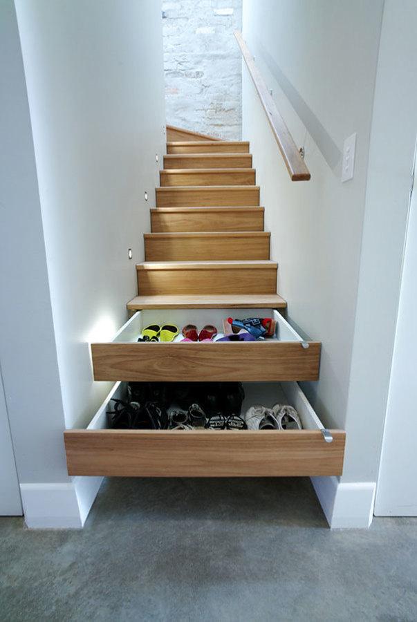 escaleras y cajones