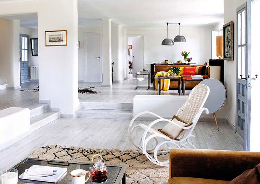 La magia de las estancias a doble altura ideas decoradores - Salon doble altura ...