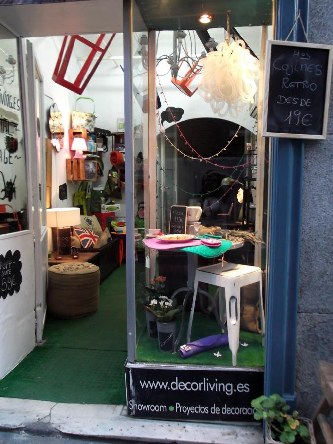 Escaparate Showroom Calle Puebla,13