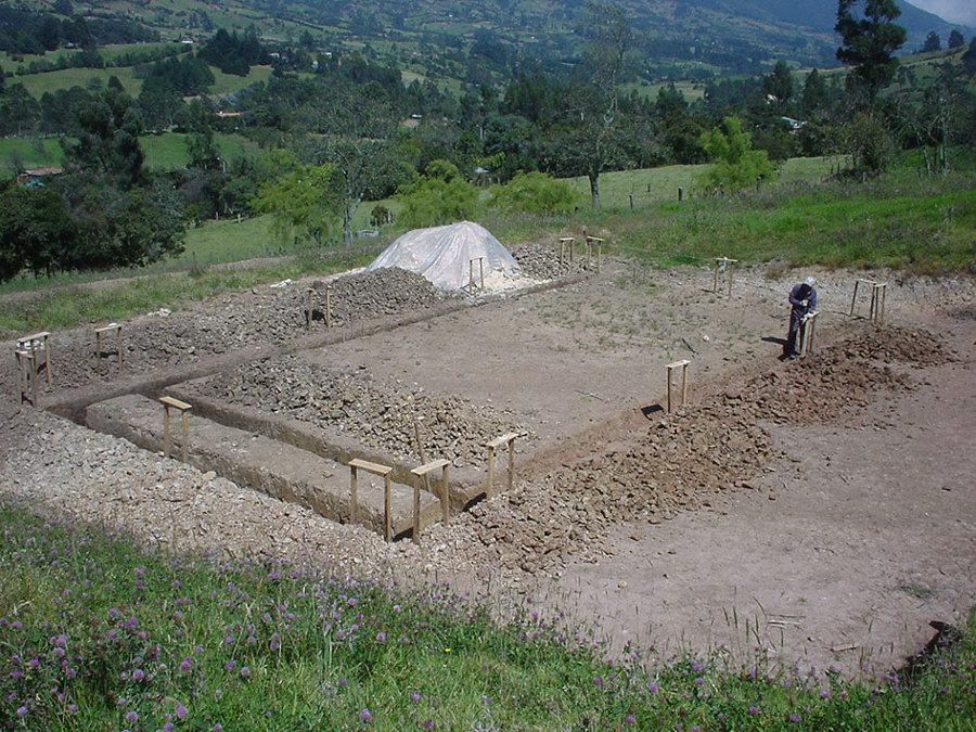 escavacion cimentacion