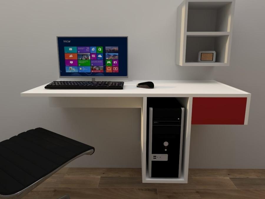 Escritorios flotantes en madrid ideas carpinteros - Muebles para pc de escritorio ...