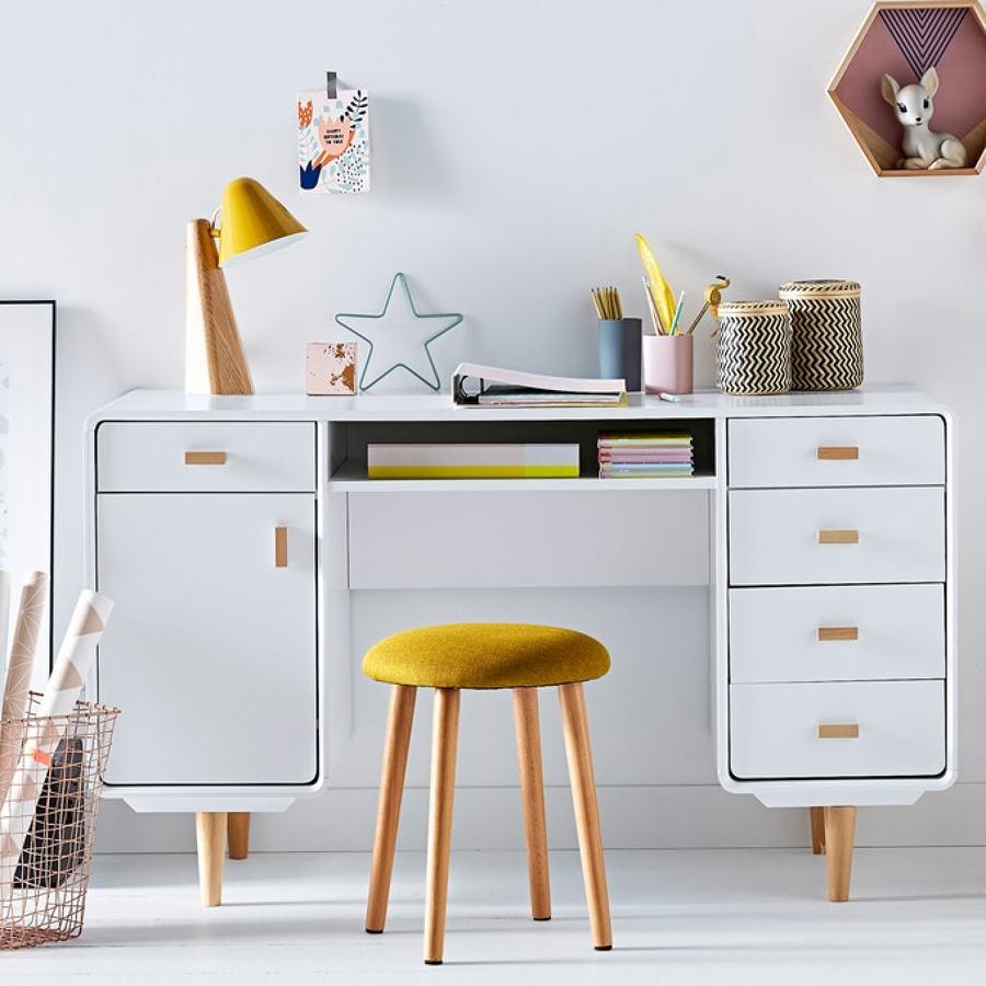 escritorio infantil escandinavo-vintage