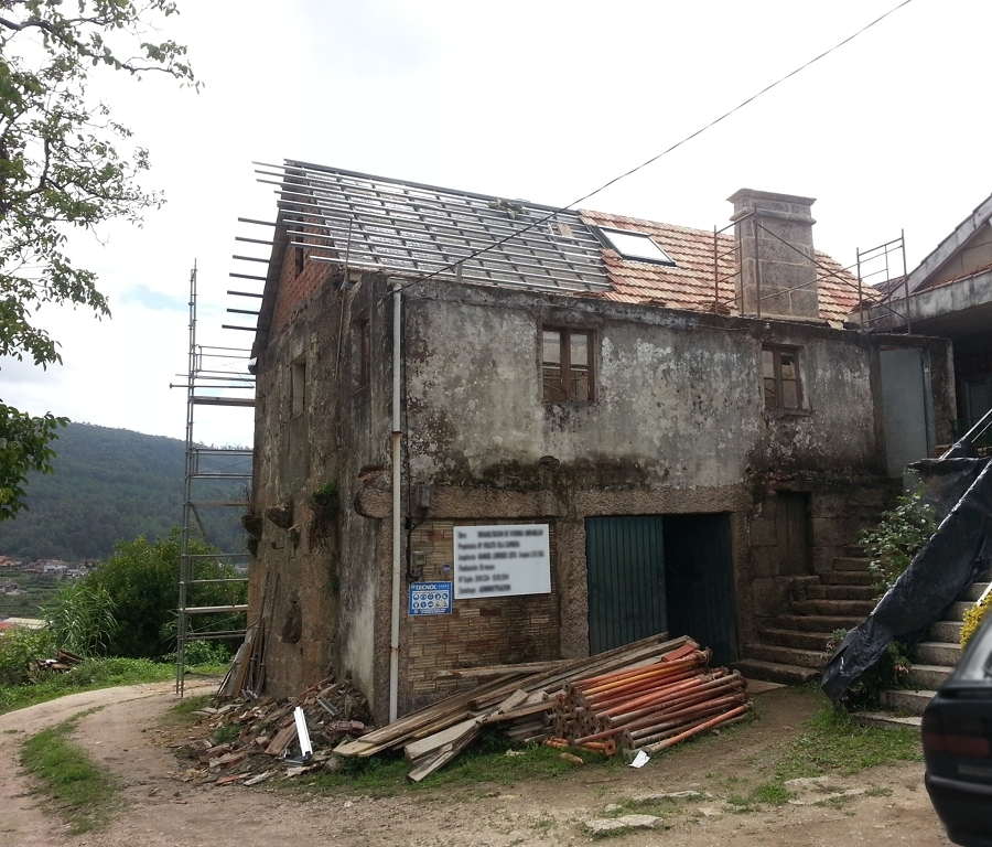 Rehabilitaci n casa rural sxix ideas reformas viviendas - Rehabilitacion casa rural ...