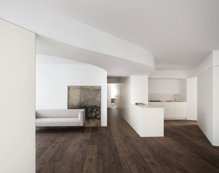 espacio abierto cocina salón