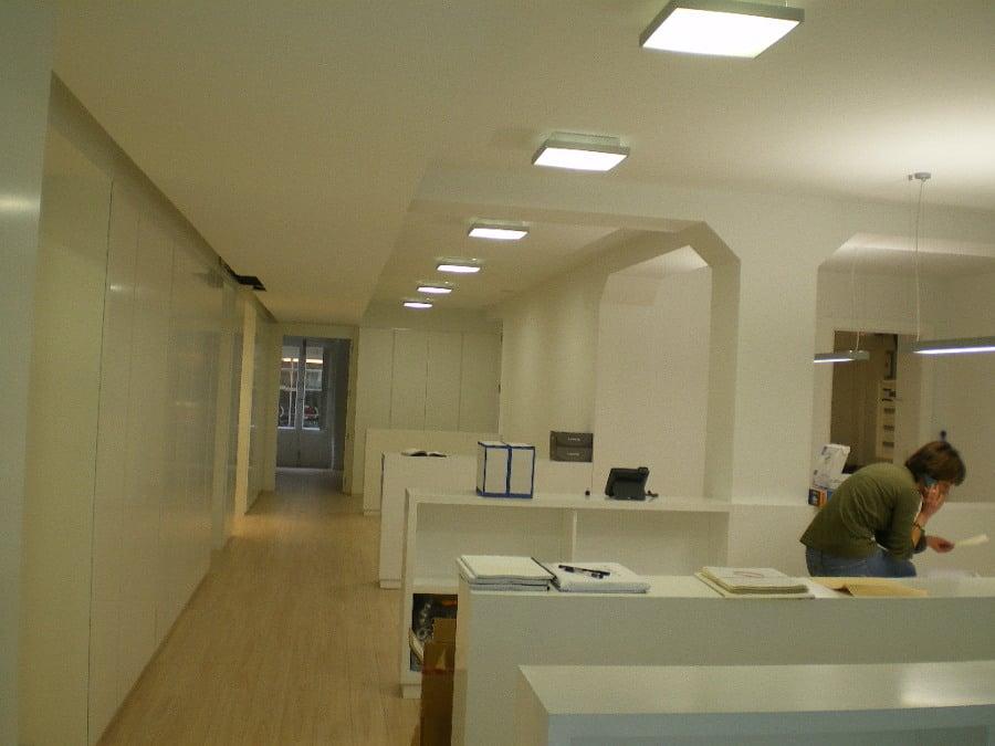 Foto espacio com n de trabajo reforma de oficinas de for Oficina empleo lleida