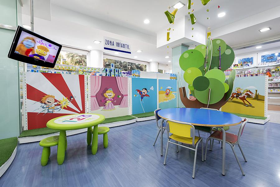 Espacio de recreo para niños