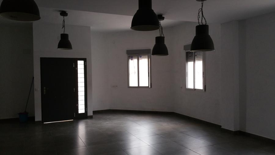 Espacio diáfano, alberga salón-comedor-cocina