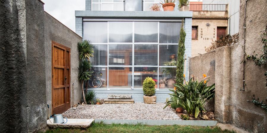 Espacio exterior y jardín