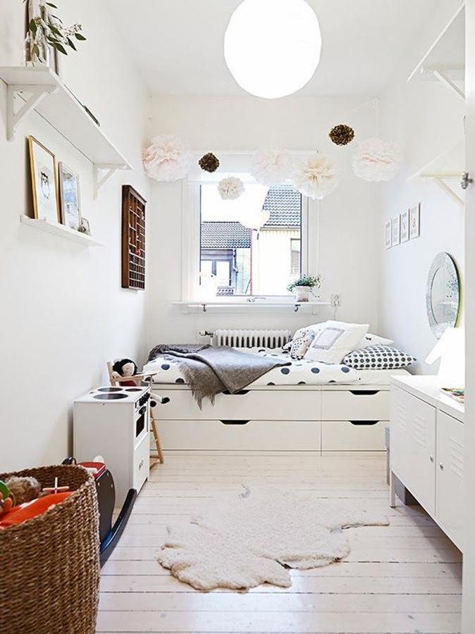 espacio extra bajo la cama