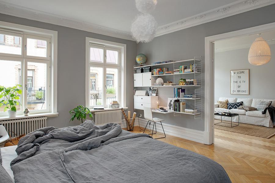 Foto espacios amplios de elenatorrente d az 957925 for Decoracion piso blanco