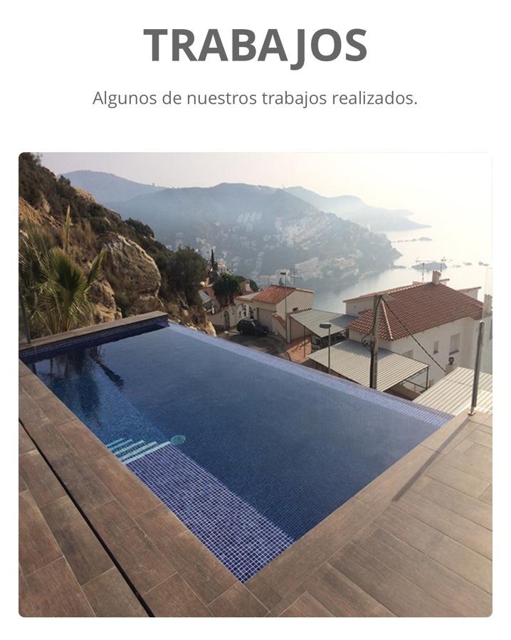 Espectacular piscina desbordante ideas construcci n piscinas - Coste construccion piscina ...