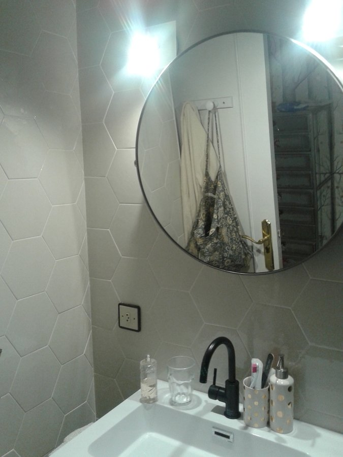 Retirada de ba era colocaci n de plato mampara y alicatado de azulejos encima de los actuales en - Alicatar encima de azulejos ...