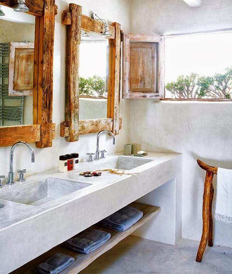 10 ba os en los que inspirarte para reformar el de tu casa for Espejos bano originales