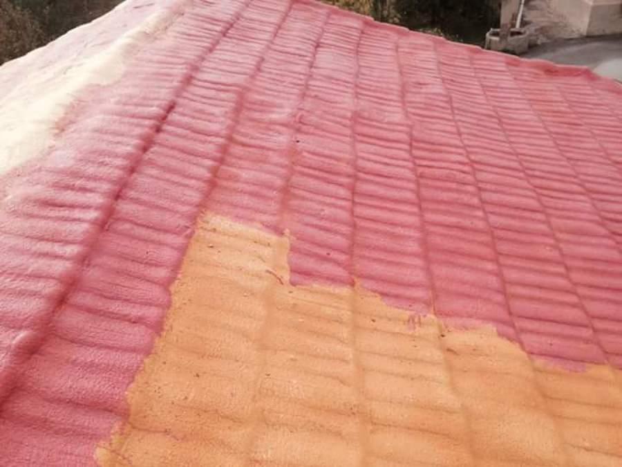 Colocacion de espuma en tejados y pintura ideas - Caucho para tejados ...