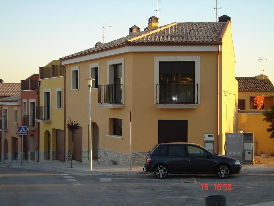 Proyecto de construcci n de cuatro viviendas unifamiliares - Construccion viviendas unifamiliares ...