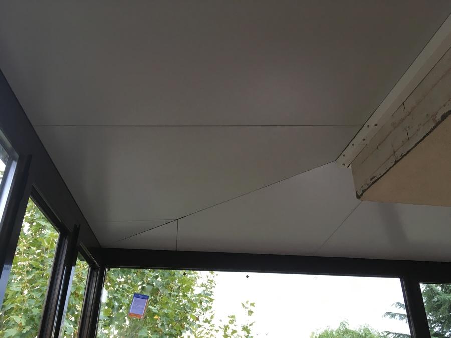 Esquina de techo