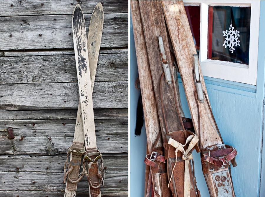 esquís vintage