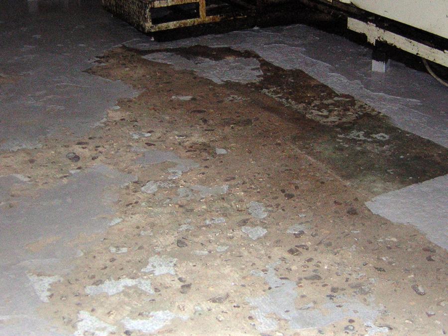 estado anterior del pavimento