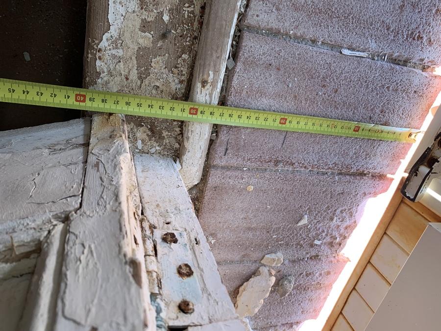 Estado de la antigua balconera