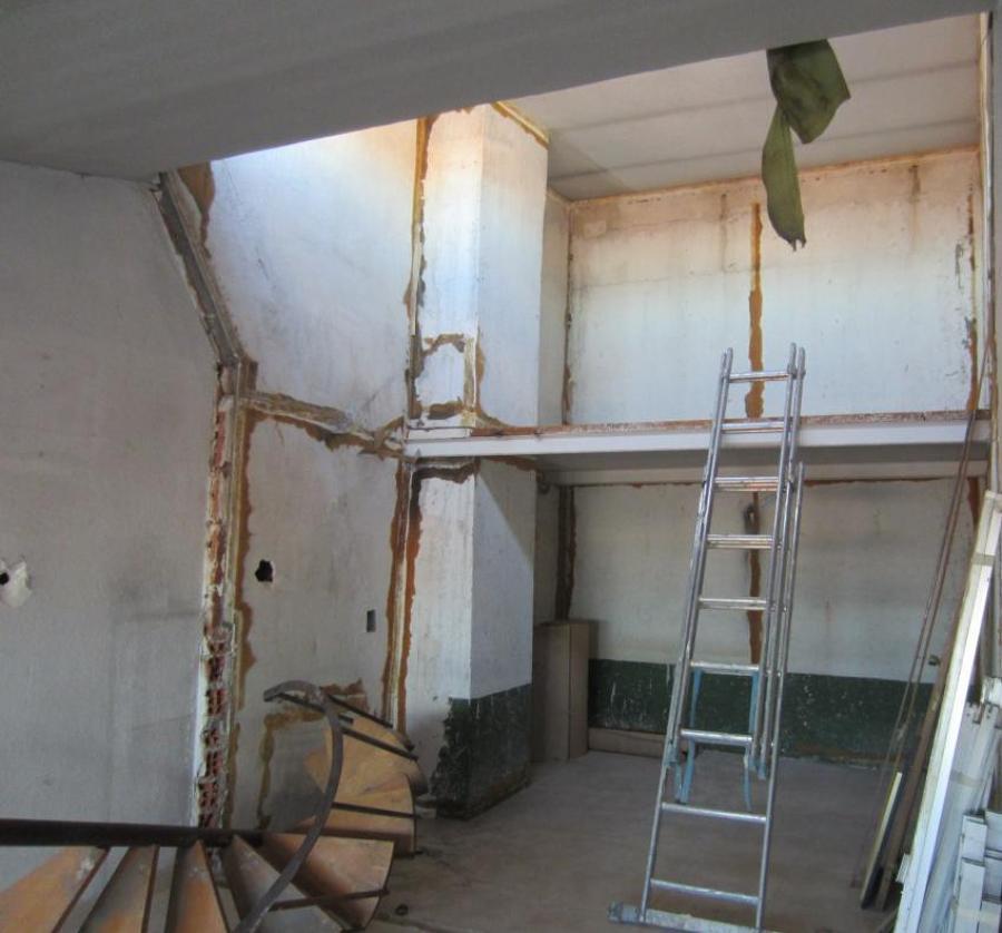 Estado de la vivienda después de la demolición