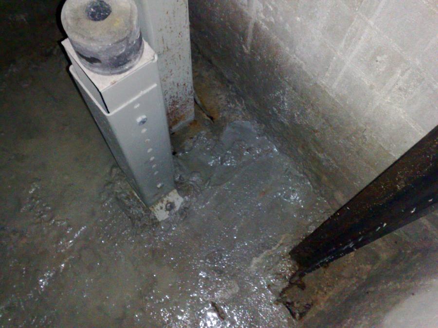 Estado del foso de ascensor