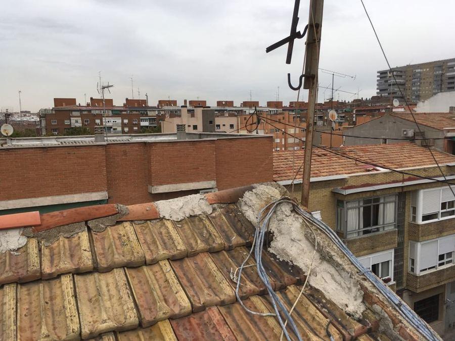 Estado del tejado actual