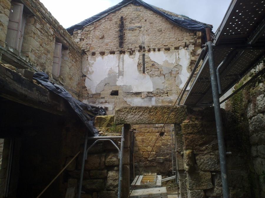 Estado inicial muros e interiores
