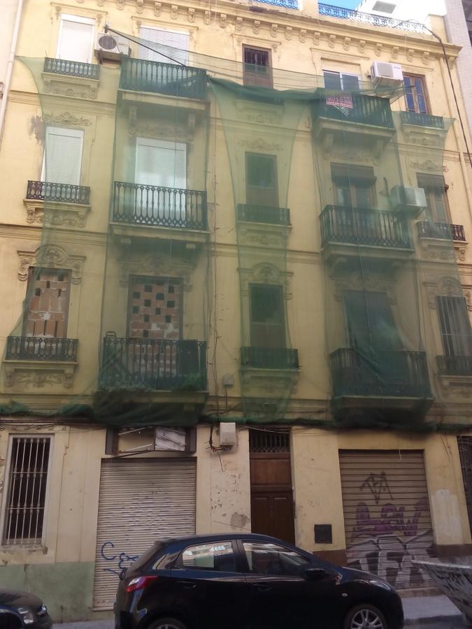 Estado original de la fachada