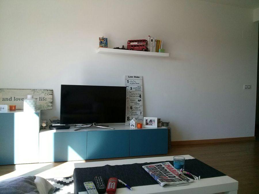 Estado previo. Mueble de TV.