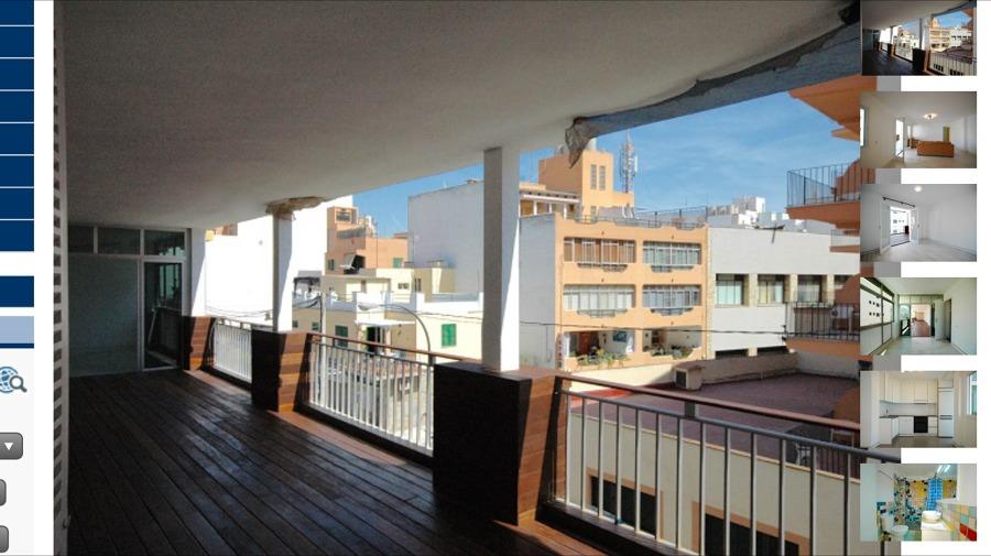 Estado reformado del balcón/terraza