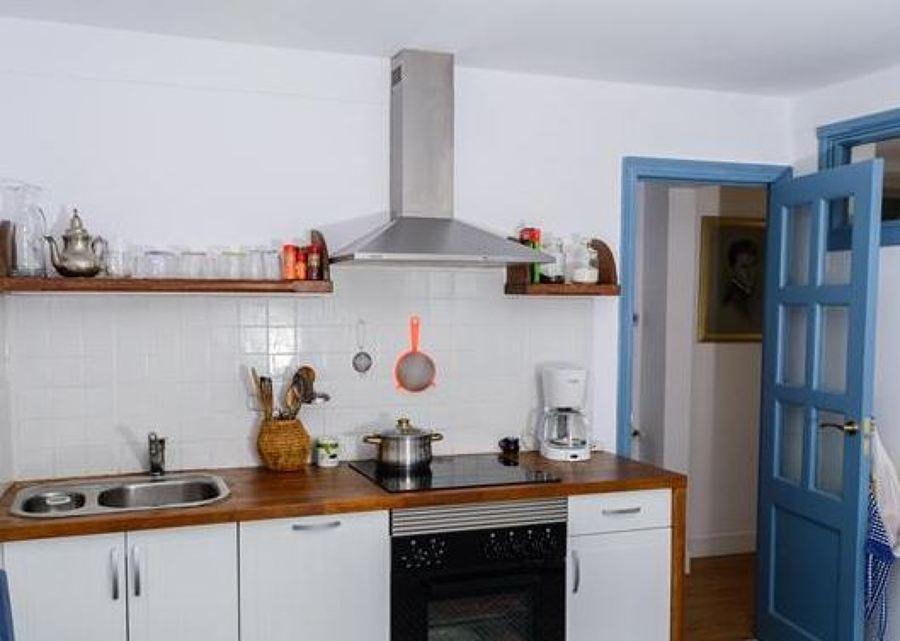 Estado reformado. Interior terminado cocina