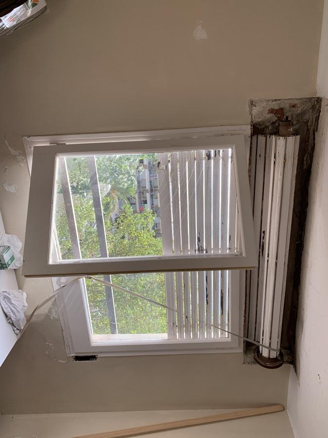 Estado ventana habitación antes de cambiarlas.