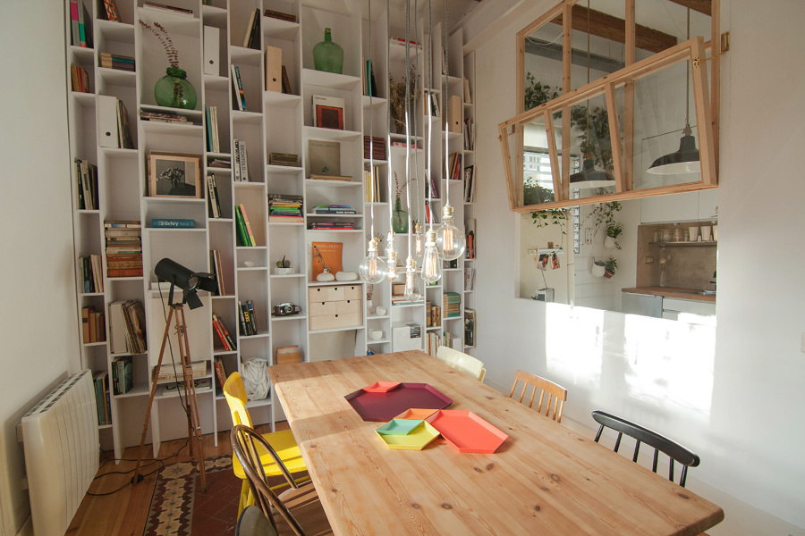 Las 7 mejores reformas de pisos de menos de 70m ideas - Estanteria a medida ...