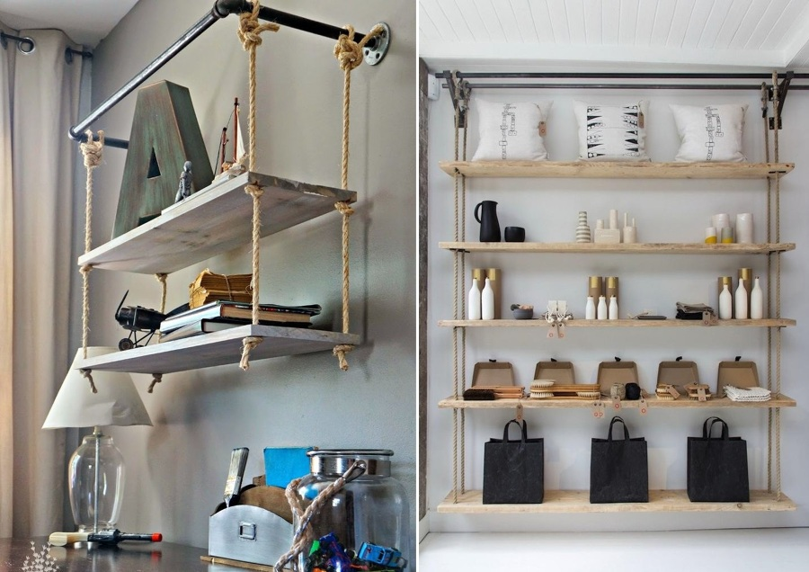 aprende a colocar estantes sin dificultades ideas