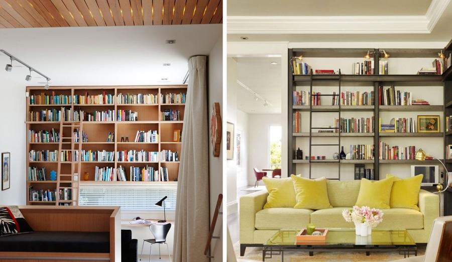 Estanter as y librer as que inspiran llena tu casa de for Como disenar una estanteria