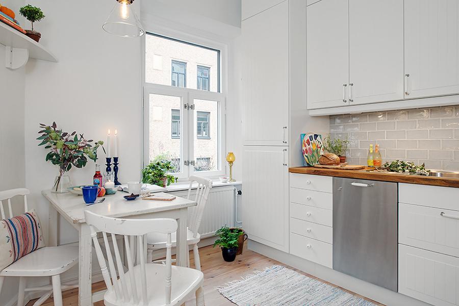 estanteria en la cocina