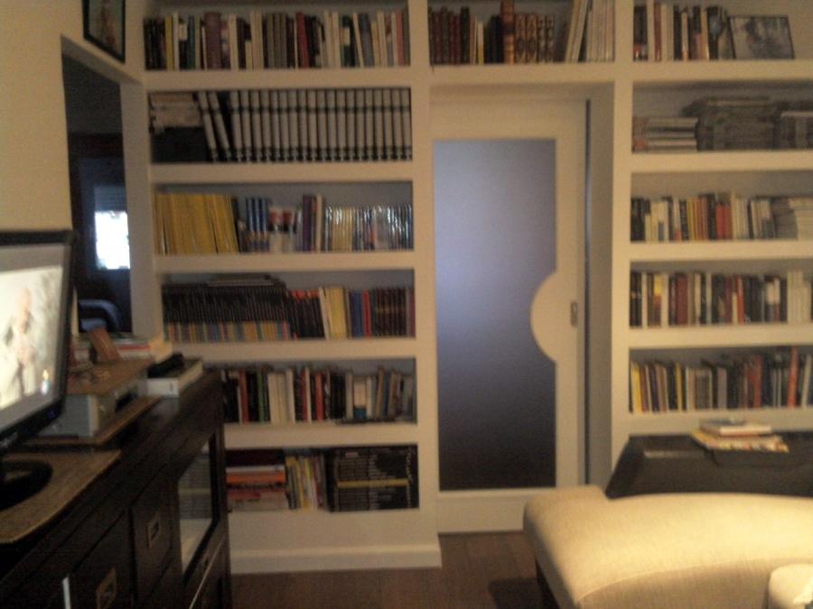Foto estanteria pladur salon de decoraciones y reformas - Estanterias para salon ...