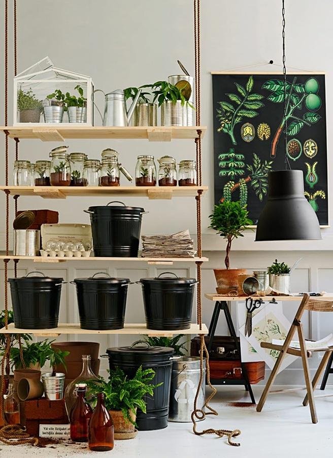 5 estanter as originales que puedes hacer t mismo ideas - Estanterias para plantas ...