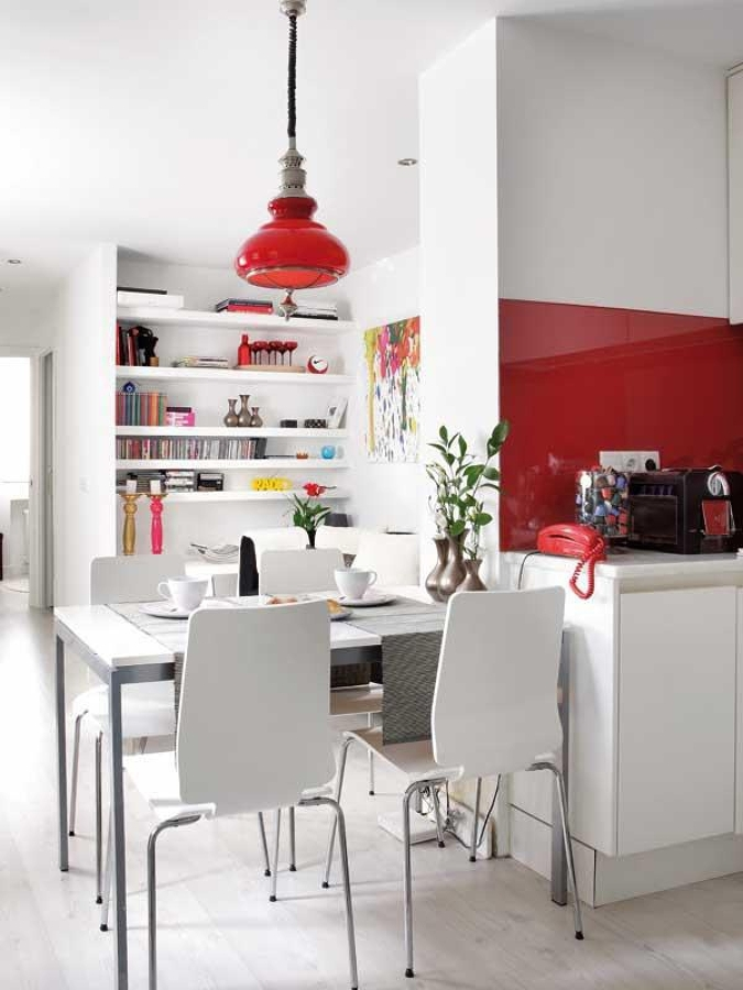 7 ideas para decorar tu comedor peque o ideas decoradores - Estanterias de obra ...