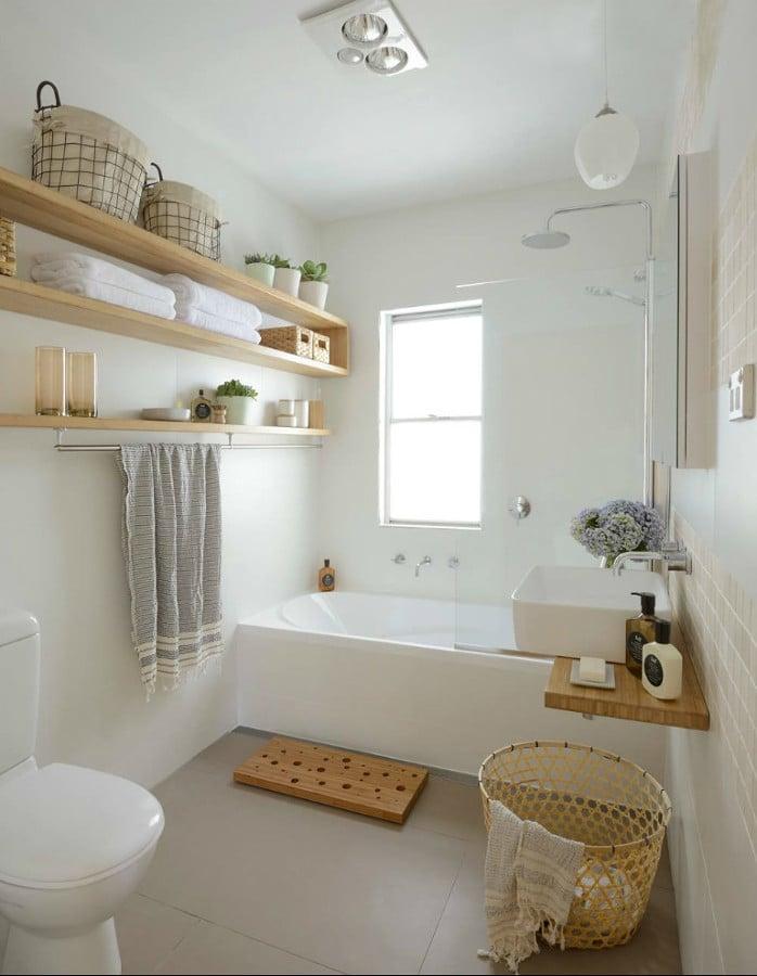 8 Muebles Auxiliares para el Baño (diy & Obra) | Ideas Reformas Baños
