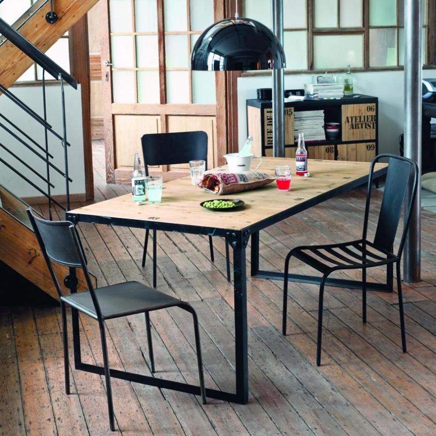 Las mejores mesas de comedor por menos de 300 euros for Proyecto comedor industrial