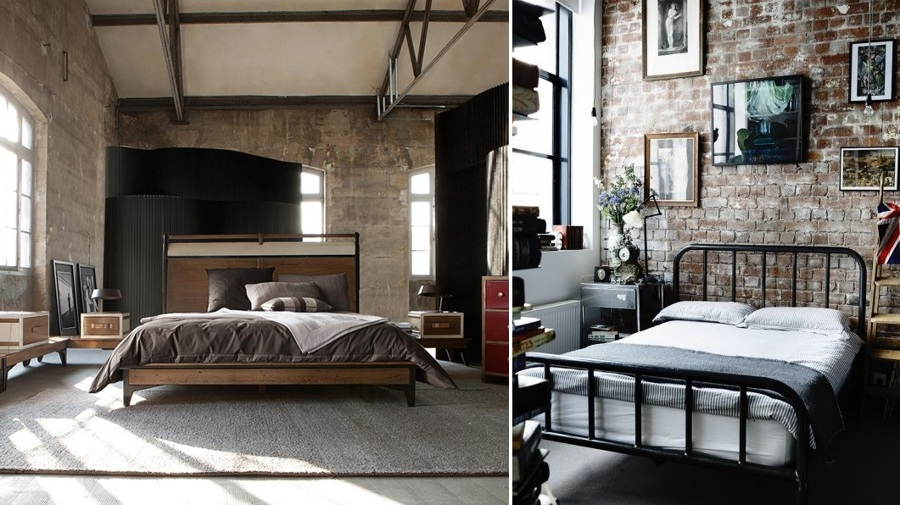 Claves para decorar un dormitorio de estilo industrial ideas decoradores - Dormitorio estilo industrial ...
