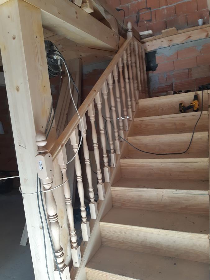 Estoy asiendo la escalera