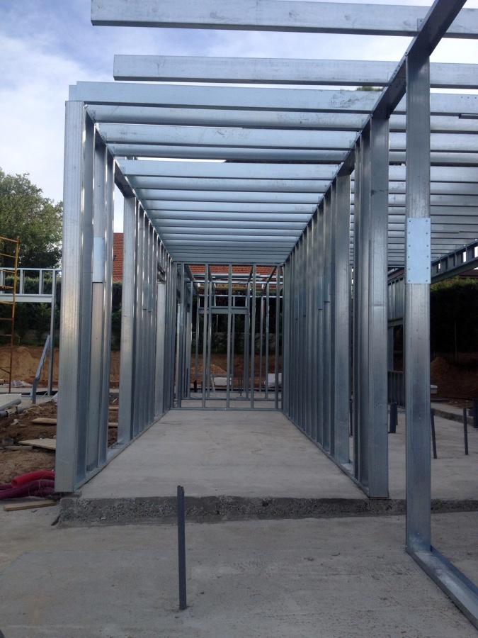 Foto estructura acero galvanizado de acero modular s l - Casas prefabricadas en las palmas ...