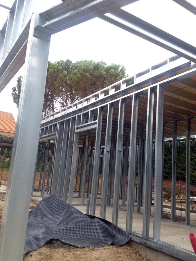 Foto estructura acero galvanizado de acero modular s l - Estructuras de acero para casas ...